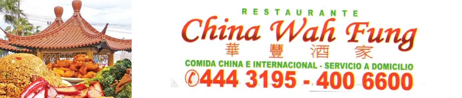 Comida china e Internacional