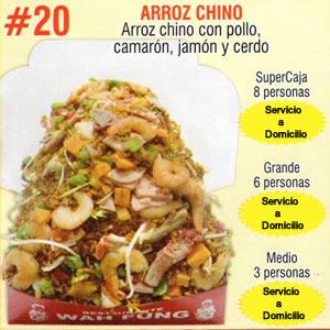 Arroz Chino Numero 20