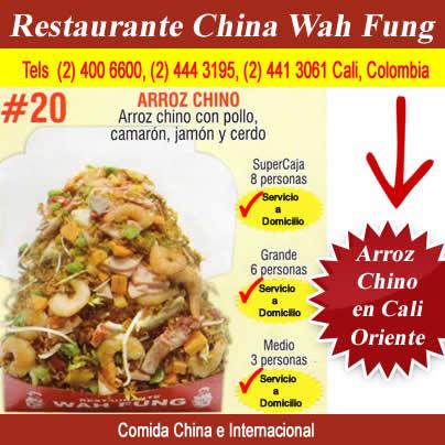 Arroz Chino Cali Oriente Domicilios Restaurante China